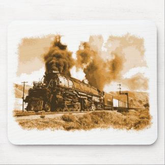 Tren viejo del vapor tapete de ratón