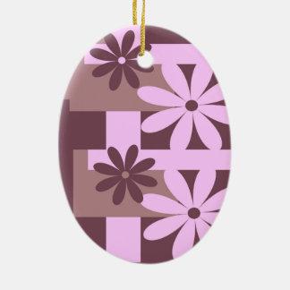 Trend colors Marsala Ceramic Ornament