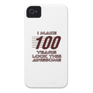 TRENDING 100 YEAR OLD BIRTHDAY DESIGNS Case-Mate iPhone 4 CASE