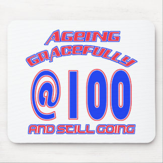 TRENDING 100 YEARS OLD BIRTHDAY DESIGNS MOUSE PAD