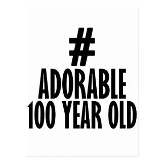 TRENDING 100 YEARS OLD BIRTHDAY DESIGNS POSTCARD