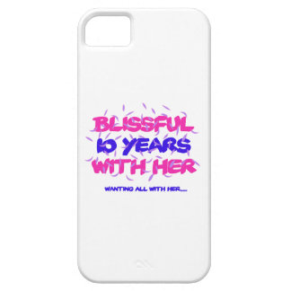 Trending 10th marriage anniversary designs iPhone SE/5/5s case