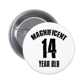 TRENDING 14 YEAR OLD BIRTHDAY DESIGNS BUTTON