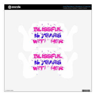 Trending 16th marriage anniversary designs decal for PS3 controller