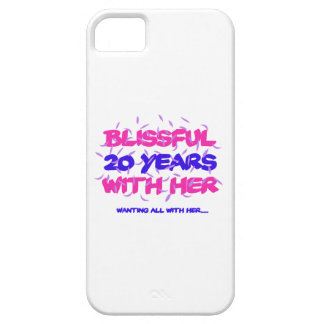 Trending 20TH marriage anniversary designs iPhone SE/5/5s Case