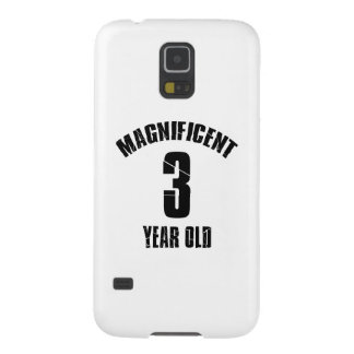 TRENDING 3 YEAR OLD BIRTHDAY DESIGNS CASE FOR GALAXY S5