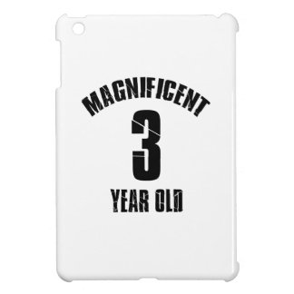 TRENDING 3 YEAR OLD BIRTHDAY DESIGNS CASE FOR THE iPad MINI