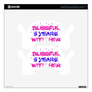 Trending 5th marriage anniversary designs PS3 controller decals