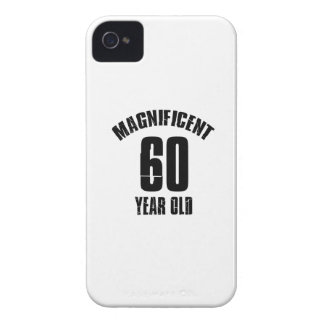 TRENDING 60 YEAR OLD BIRTHDAY DESIGNS Case-Mate iPhone 4 CASE