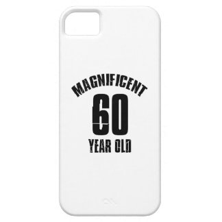 TRENDING 60 YEAR OLD BIRTHDAY DESIGNS iPhone SE/5/5s CASE