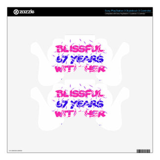Trending 67TH marriage anniversary designs PS3 Controller Skins