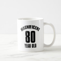 TRENDING 80 YEAR OLD BIRTHDAY DESIGNS COFFEE MUG
