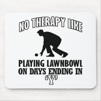 Trending and awesome Lawn-bowl designs Mouse Pad