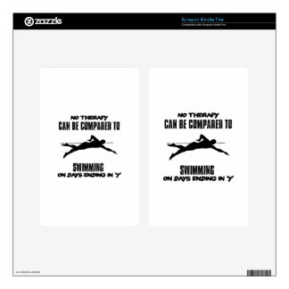 Trending and awesome Swimming designs Kindle Fire Decal