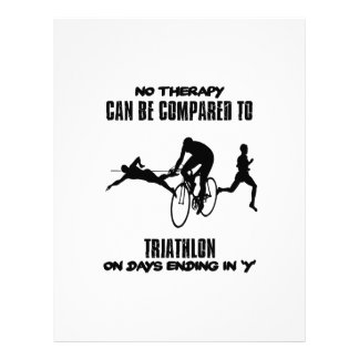 Trending and awesome TRIATHLON designs Letterhead
