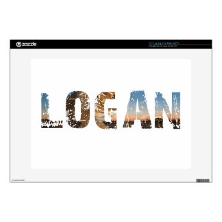TRENDING and cool Logan name designs Laptop Decal