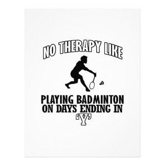 Trending Badminton designs Letterhead