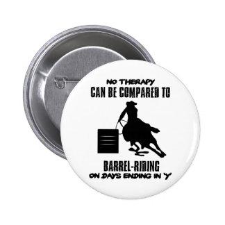 Trending Barrel-riding designs Pinback Button