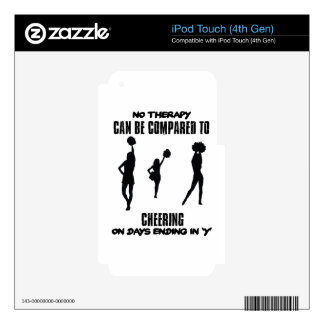 Trending Cheering designs Skins For iPod Touch 4G