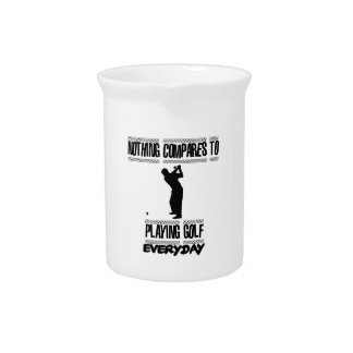 Trending cool Golf designs Drink Pitcher