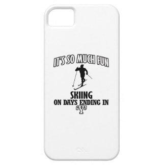 Trending cool skiing designs iPhone SE/5/5s case