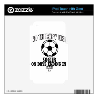 Trending cool Soccer designs Decals For iPod Touch 4G