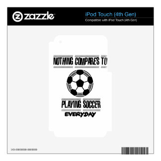 Trending cool Soccer designs iPod Touch 4G Skin
