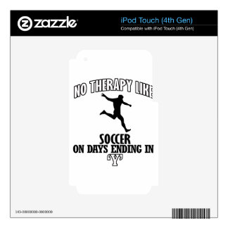 Trending cool Soccer designs Skin For iPod Touch 4G