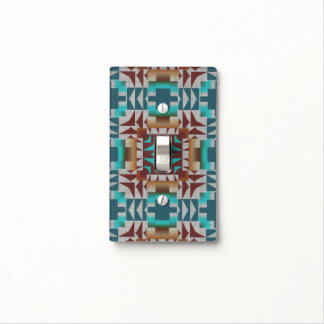 Trending Eclectic Ethnic Bohemian Mosaic Pattern Light Switch Cover