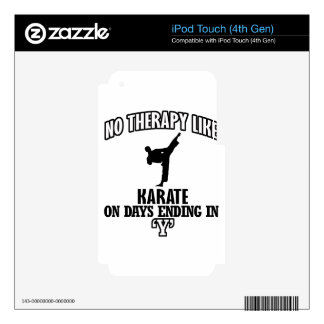Trending Karate designs Decals For iPod Touch 4G