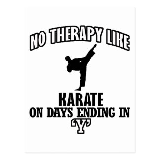 Trending Karate designs Postcard
