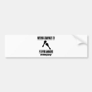 Trending Maracas designs Bumper Sticker