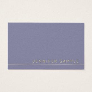 Trending Modern Elegant Colors Pearl Finish Luxury Business Card