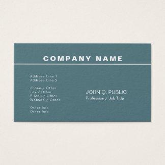 Trending Modern Professional Elegant Plain Business Card