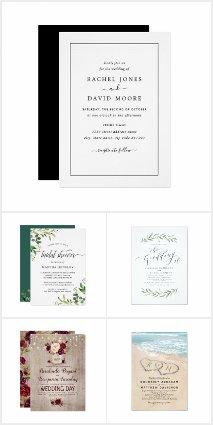 Trending NOW - Wedding Invitations