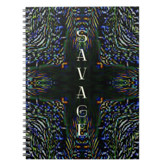 Trending Pop Culture Slang 'Savage' Notebook