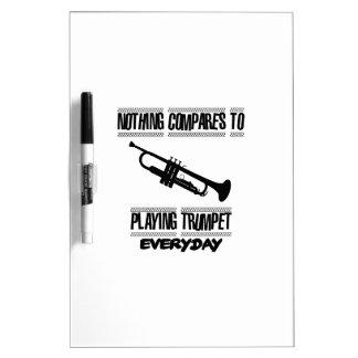 Trending Trumpet designs Dry-Erase Board