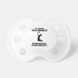 Trending Volleyball designs Pacifier