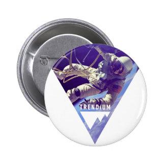 Trendium Authentic Astronaut in Inverted Triangle Pins