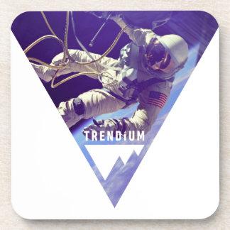 Trendium Authentic Astronaut in Inverted Triangle Coasters