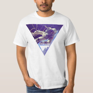 Trendium Authentic Astronaut in Inverted Triangle Tee Shirts