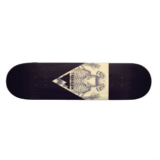 Trendium Authentic Symmetrical Skeleton Triangle Skateboard Deck