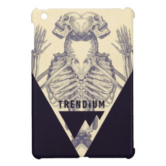 Trendium Vintage Symmetrical Skeleton Triangle iPad Mini Covers