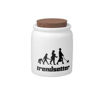 Trendsetter Candy Jar