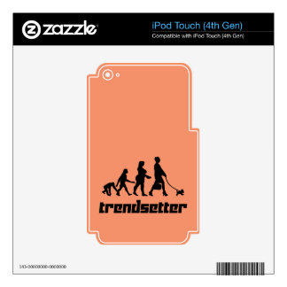 Trendsetter Decals For iPod Touch 4G
