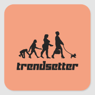 Trendsetter Square Sticker
