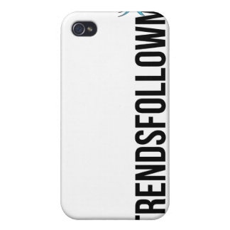 #TrendsFollowMe Twitter Trends iPhone Case Case For iPhone 4