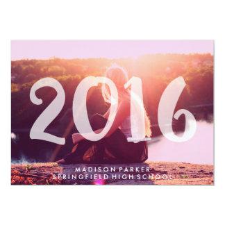 Trendy 2016 Pink Tint Transparent Photo Overlay Card
