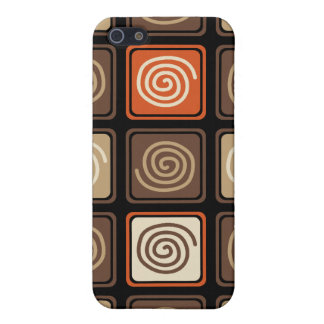 Trendy Abstract - Coffee Cover For iPhone SE/5/5s