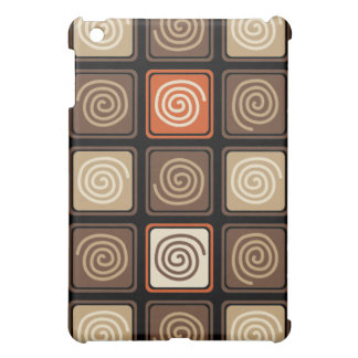 Trendy Abstract - Coffee Cover For The iPad Mini